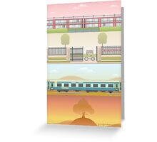 A 'Wes Anderson' Collection Poster Print 2 Greeting Card