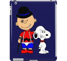 Charlie Brown Clockwork Orange iPad Case/Skin