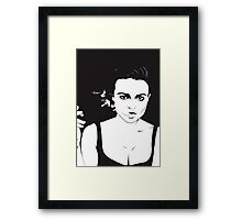 If I did have a tumor, I would name it Marla! Framed Print