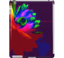 Water lily abstract pop art iPad Case/Skin