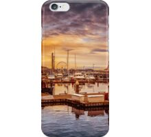 Seattle marinescape iPhone Case/Skin