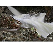 Water Sculpture at Stickle Ghyll,Great Langdale Photographic Print