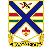 130th Infantry Regiment - Always Ready Photographic Print