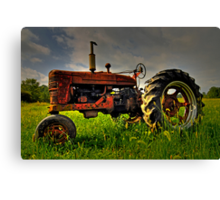 Farmall Field Of Green Canvas Print