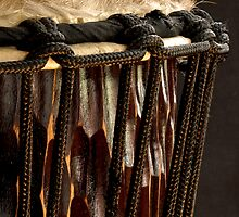 Djembe Drum by Dawne Olson