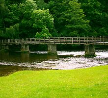 Across the River Wharfe by Trevor Kersley