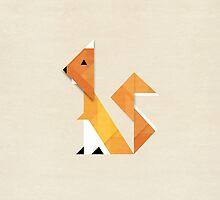 Squirrel by Alyn Spiller
