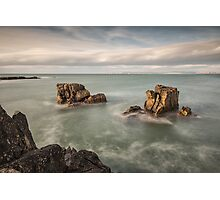 Ballycastle - Carved by the Sea Photographic Print