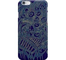 Aztec has been - Blue and green iPhone Case/Skin