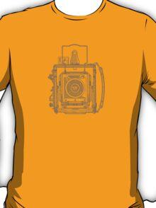 Vintage Photography - Graflex - Blue T-Shirt