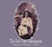 The Girl From Underground  Oval Shirt by Sharaya Brooks