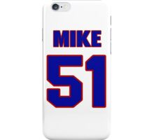 National football player Mike Goolsby jersey 51 iPhone Case/Skin