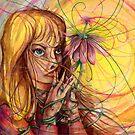Magic Flower Girl by Steven Novak