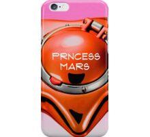 princess mars sailor mars star locket iPhone Case/Skin