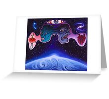 Confrontations with Greeting Card