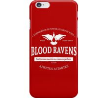Blood ravens iPhone Case/Skin