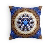 The Navajo Lion Throw Pillow
