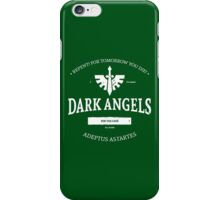 Dark angels iPhone Case/Skin