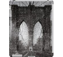 Brooklyn Bridge Snow Day iPad Case/Skin
