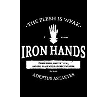 Iron Hands Photographic Print