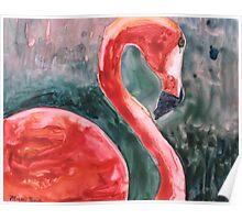 Flamingo Icon Poster