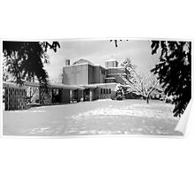 St. John's Shaughnessy, Vancouver in Snow Poster