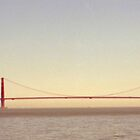 Golden Gate Bridge Angel Island View by Tomoe Nakamura