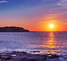 Sunrise over Bondi Beach by Mark Richards