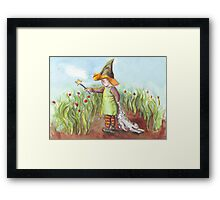 North West Witch Framed Print