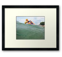 Ken's Warm Embrace Framed Print