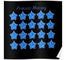 Princess Mercury, Sailor Mecury, sailor moon blue star locket  Poster
