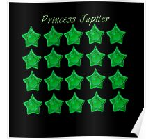 Princess Jupiter, Sailor Jupiter, sailor moon Green star locket  Poster