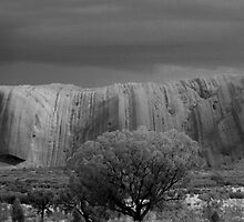 Uluru - Oncoming Storm by Bart The Photographer