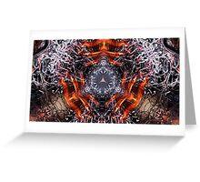 Dark Flames Greeting Card