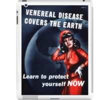Disease Covers the Earth iPad Case/Skin