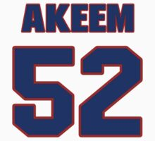 National football player Akeem Ayers jersey 52 by imsport