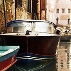 Lonely Boat in Venice by Joseph Johnson