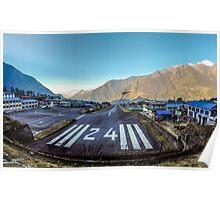 Lukla Airport, Nepal Poster