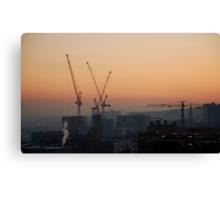 Sheffield: City of Cranes Canvas Print