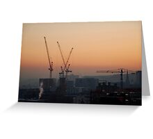 Sheffield: City of Cranes Greeting Card