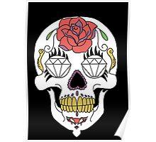 Mexican skull / Calavera mexicana Poster