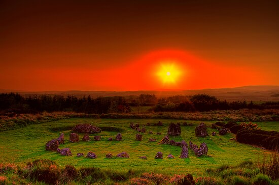 Beaghmore Stone Circles by doublevision