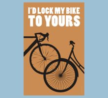 I'd Lock My Bike to Yours Kids Clothes