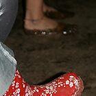 Festival Feet by Louise Green