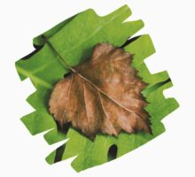 Old and New Leaf Abstract Art Kids Clothes