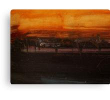 Evening Study Canvas Print