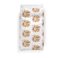 Bear with Honey-Pot Duvet Cover
