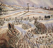 """Snow patrol"" by Yorkspalette"