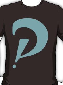 Interrobang perspective T-Shirt