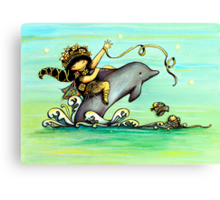 Sea Poppy Canvas Print